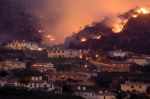 Wildfires Engulf Homes